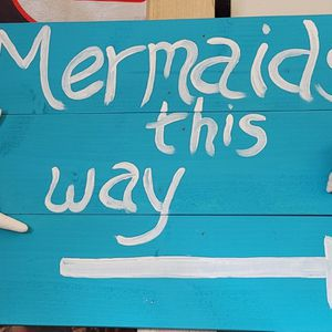 Mermaid Sign for Sale in West Palm Beach, FL