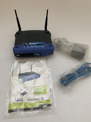Linksys 2.4GHz 802.11b Wireless Access Point Router 4-Port Switch BEFW11S4 ver 2 for Sale in Mendon, MA