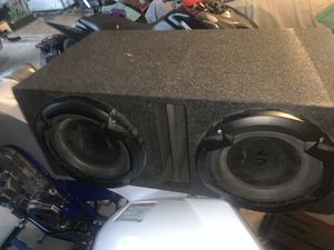 Lightning Audio 10in subs w/ Rockford Fosgate 750w amp for Sale in Aurora, CO