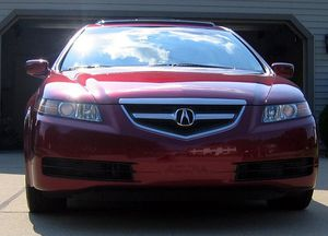(JUST REDUCED PRICE) 2004 Acura TL Red On Black for \SALE by Owner for Sale in Frederick, MD