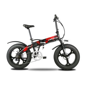 Bran New X2000 Plus Red 500W 48V 10AH 7 Speeds Folding Electric Fat Bike for Sale in Oakland Park, FL
