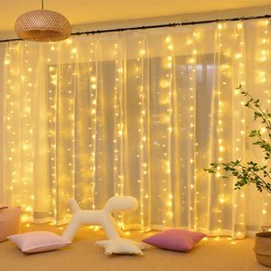 Window Curtain String Light for home party decor for Sale in Gaithersburg, MD