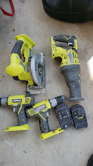 Ryobi power tools for Sale in Bakersfield, CA
