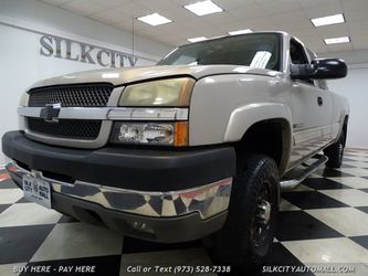 2004 Chevrolet Silverado 2500 LS HD 4x4 4dr Extended Cab 8ft Long Bed Bluetooth for Sale in Paterson,  NJ