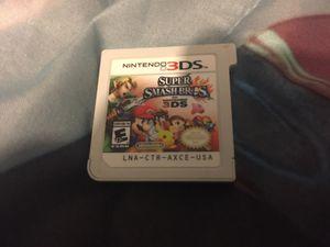 Supersmash bros for Nintendo 3ds for Sale in Philadelphia, PA