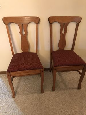 2 antique dining room chairs. for Sale in Appleton, WI