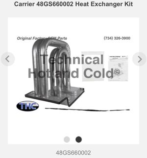 NEW: Carrier Heat Exchanger Kit - **new*** for Sale in Franklin, TN
