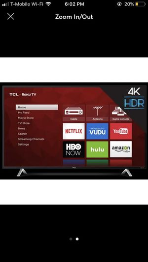 TCL 55'' 4K HD 2160P Roku Smart LED TV for Sale in Lorton, VA