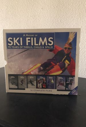 A History if Ski Films - 70 years of thrills, chills, and spills for Sale in Denver, CO