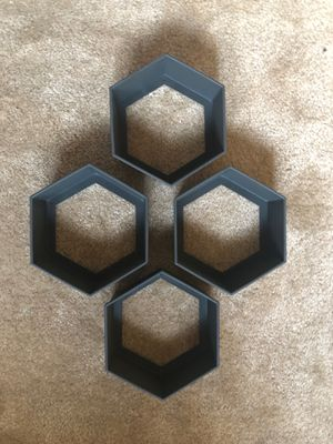 Hexagon display shelves for Sale in Kalamazoo, MI