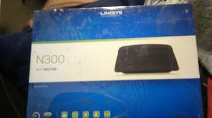 Linksys N300 wifi router for Sale in Fontana, CA