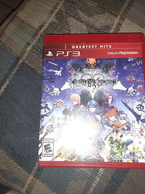 Kingdom of hearts ps3 game for Sale in El Paso, TX