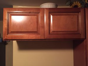 Kitchen cabinet 36 wide 12 deep. Cabinet has been never been hung. This is a pic of what it looks like on the wall. for Sale in McKeesport, PA