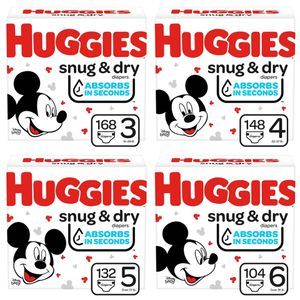 Huggies Diapers Big Box for Sale in Los Angeles, CA