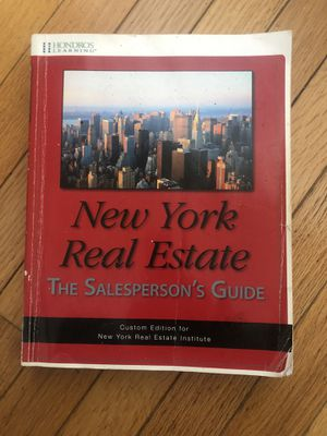 New York Real Estate The Salesperson's Guide for Sale in Queens, NY