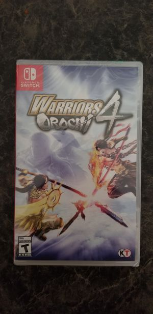 Warriors Orochi 4 Nintendo Switch BRAND NEW for Sale in Tolleson, AZ