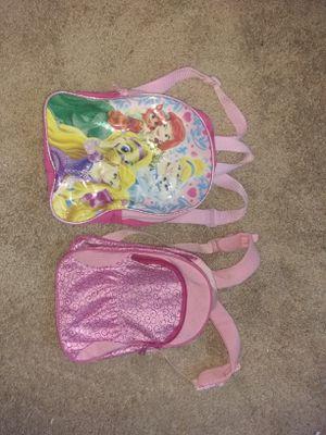 Girls Princess Backpacks 4$ each for Sale in Alexandria, VA