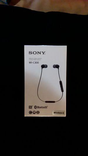 SONY WI-C300 WIRELESS Bluetooth HEADSET for Sale in San Bernardino, CA