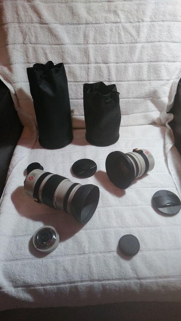 Canon VL Lenses