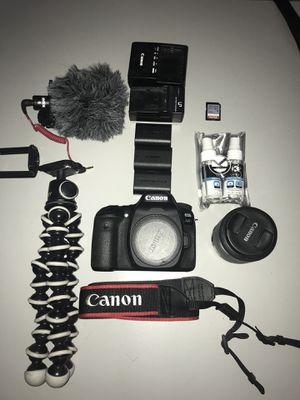 Canon 80d for Sale in Boston, MA