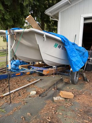 Trailer and Dinghy for Sale in Federal Way, WA