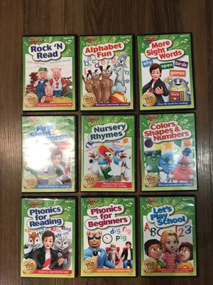 Rock - N - Learn DVD Set - brand new for Sale in San Diego, CA