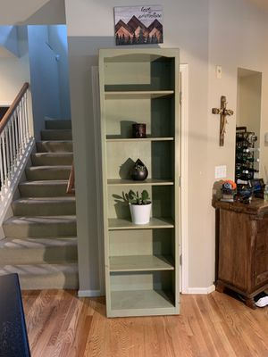 Tall Skinny Bookcase Bookshelf Shelf for Sale in Sammamish, WA