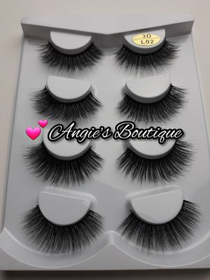 Fluffy Eyelashes Style #L02 - 4 Pair Pack for Sale in Palmdale, CA