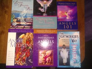 Qty of 6 Doreen Virtue books for Sale in Parma, OH