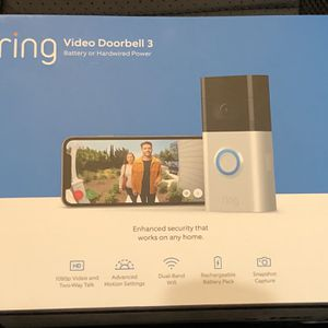 Ring Video Doorbell 3 - New In Box for Sale in Chula Vista, CA