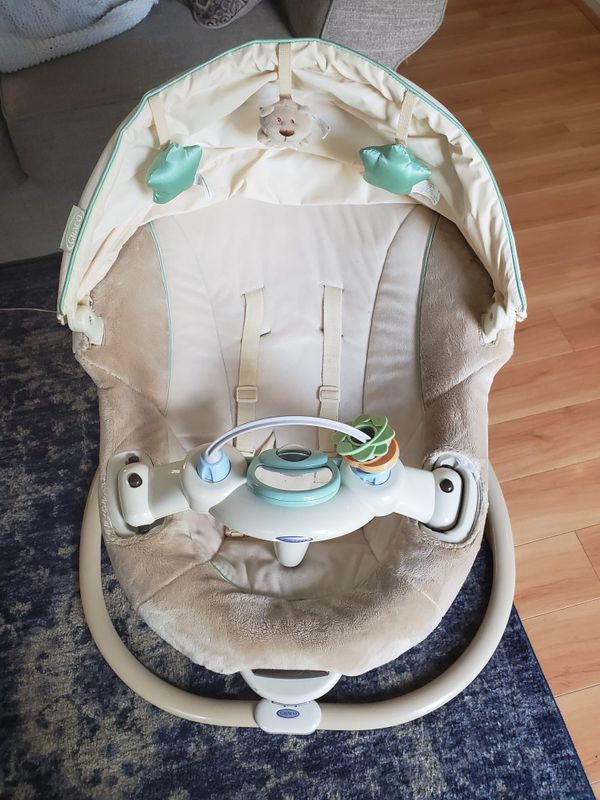 Baby swing and bouncer in one