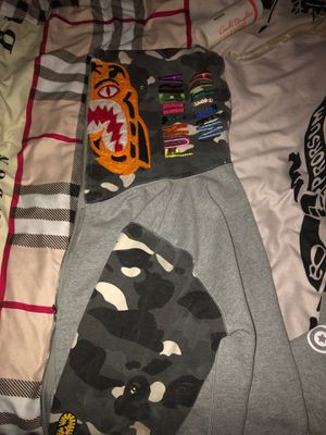 Bape hoodie size medium fits like small for Sale in Upper Marlboro, MD