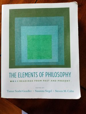 The elements of philosophy book for Sale in Vista, CA