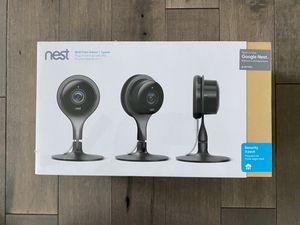 Google Nest Cameras Indoor (3 pack) for Sale in Aurora, CO