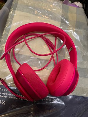 Beats Headphone with Case for Sale in Peabody, MA