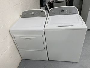 Whirlpool Cabrio h/e washer and dryer set for Sale in Fort Mill, SC