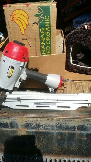 Framing nail gun, like new for Sale in Monrovia, MD