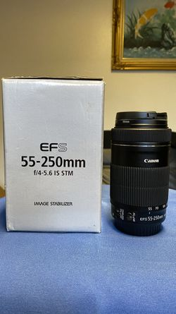 Canon 55-250mm STM/New for Sale in Seattle,  WA