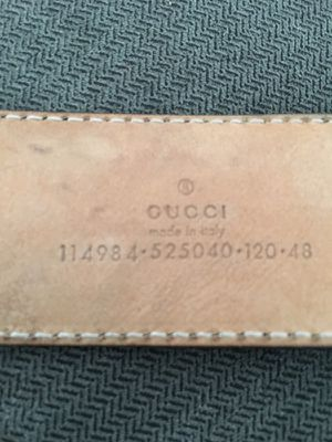 Gucci signature leather belt black for Sale in Los Angeles, CA