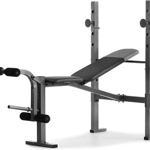 BRAND NEW XR6.1 BENCH WITH LEG EXTENSIONS AND BAR HOLDER for Sale in Fort Lauderdale, FL