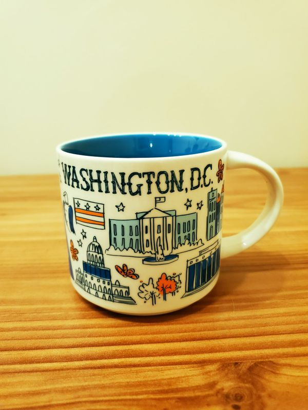 Starbucks Washington DC Mug 14 oz