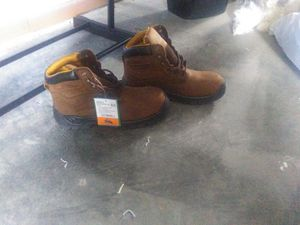 Brand new men's steel toe work boots for Sale in Imperial, MO