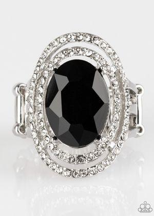 Paparazzi Black Ring for Sale in Sebastian, FL