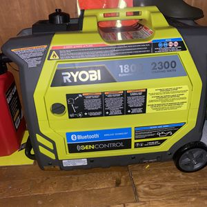 RYOBI 2300watt Inverter Generator for Sale in Seattle, WA