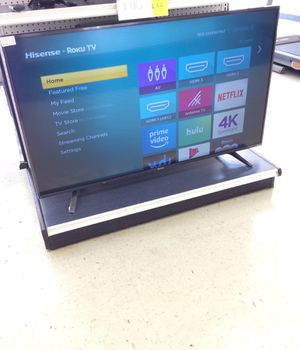 55 inch smart tv hisense with remote, 4K for Sale in Houston, TX