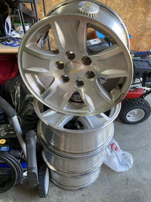 Chevy rims for sale for Sale in Olympia, WA