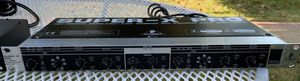 Behringer 2/3 Way Crossover Excellent condition XLR Connections, Rack mount for Sale in Whittier, CA