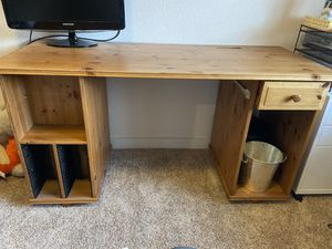 Great Wood Desk for Sale in Gig Harbor, WA