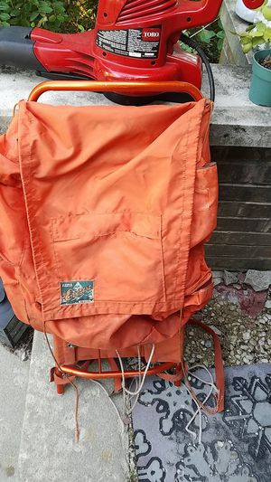World famous the Everest 228 orange hiker hiking backpack for Sale in Downers Grove, IL