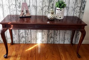 "Wooden Entry Way Sofa Accent Table53"" x 17"" x 26""H for Sale in Arvada, CO"